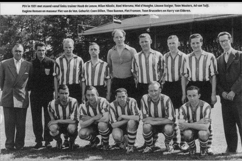 PSV 1950 - 1951